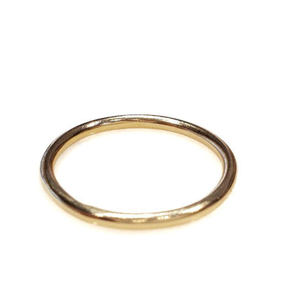 Bridal Ring - 1.5mm Full Round Classic - 14k Yellow Gold by Silver + Salt