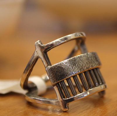 Ring - Size 7 Geordi Sterling Silver by Dana C Fear