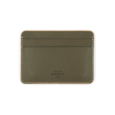 Half Wallet - Smooth Leather (Assorted Colors) by Woolly