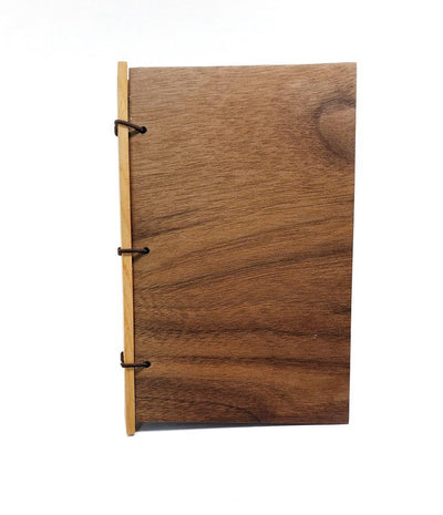 3x5in Cherry Wood Journal by BookGrain