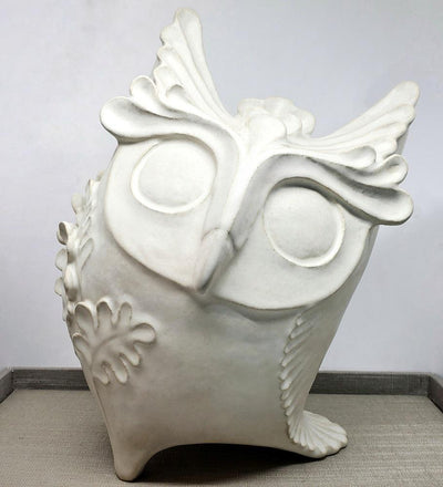 Large Owl Sculpture by Shelly Fredenberg