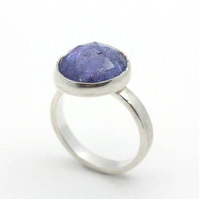 Ring - Size 6.75 - OOAK Tanzanite Sterling Silver by Silver + Salt
