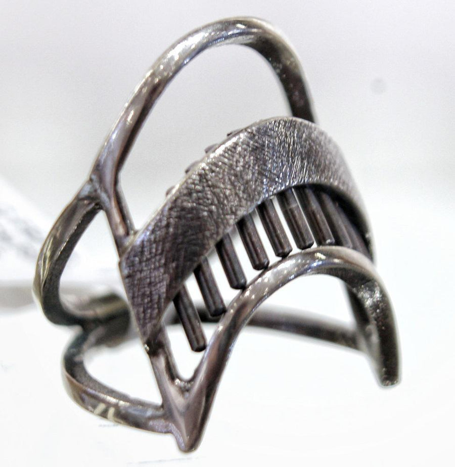 Ring - Size 7.5 Geordi Arch Sterling Silver by Dana C Fear