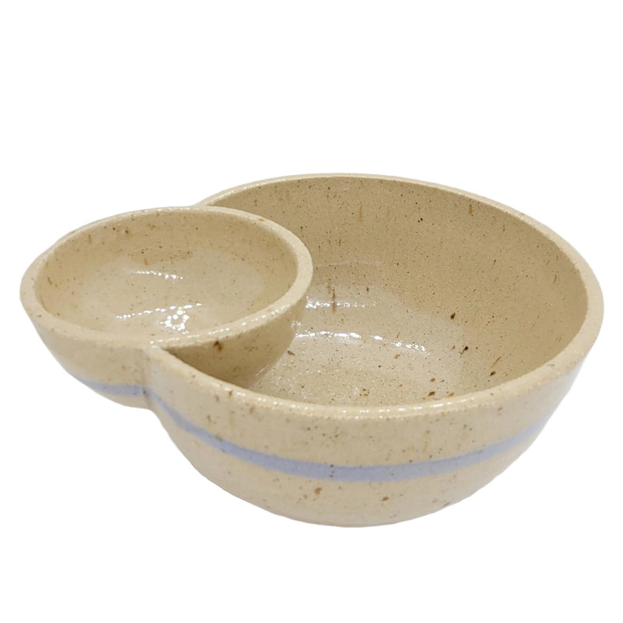 Olive Double Bowl by Siera Matsuo