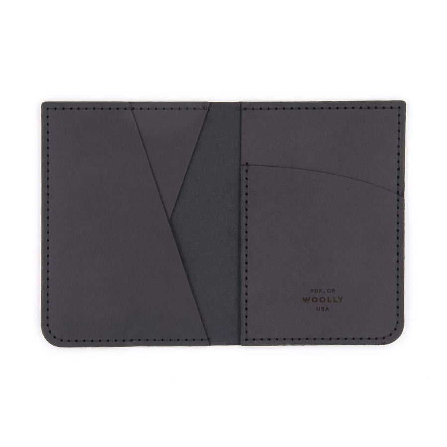Portrait Wallet - Smooth Leather by Woolly