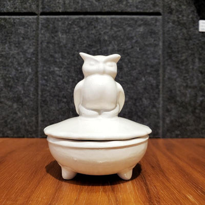 Covered Dish - Owl by Happy LA
