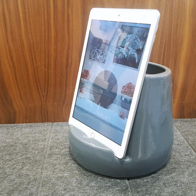 Kitchen - Tablet Dock - Charcoal by Stak Ceramics