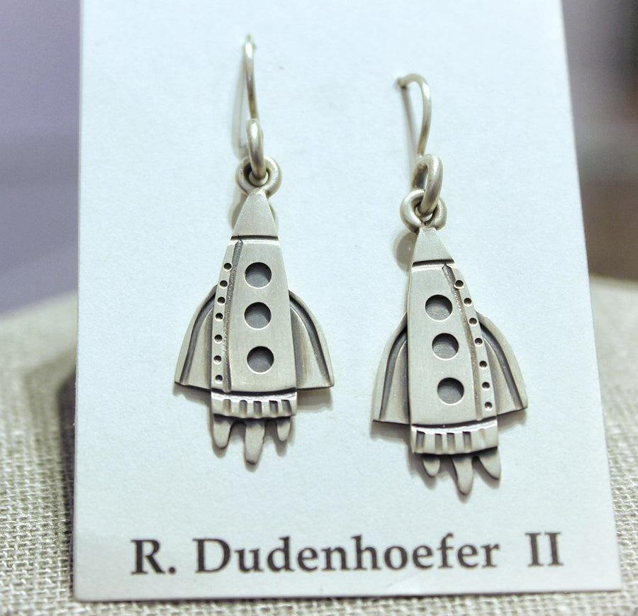 Earrings - Zoom Sterling Silver (RD50) by Robert Dudenhoefer II