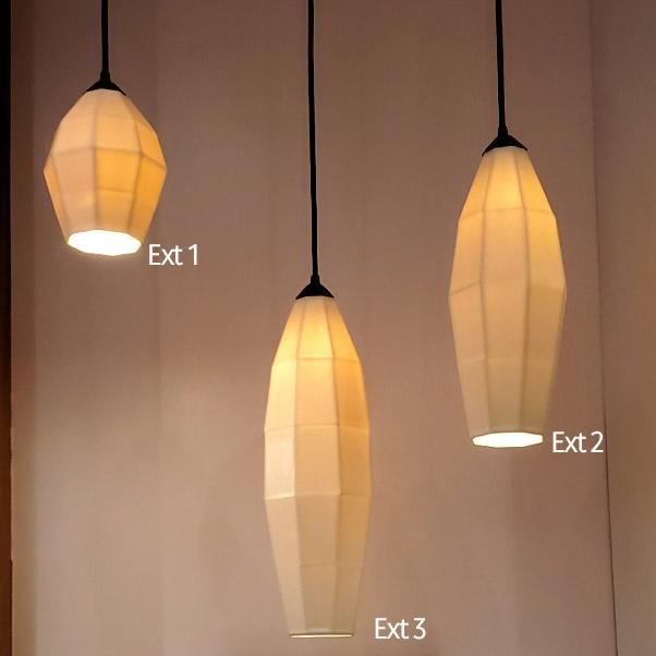Light - Extension 3 Porcelain Pendant by The Bright Angle