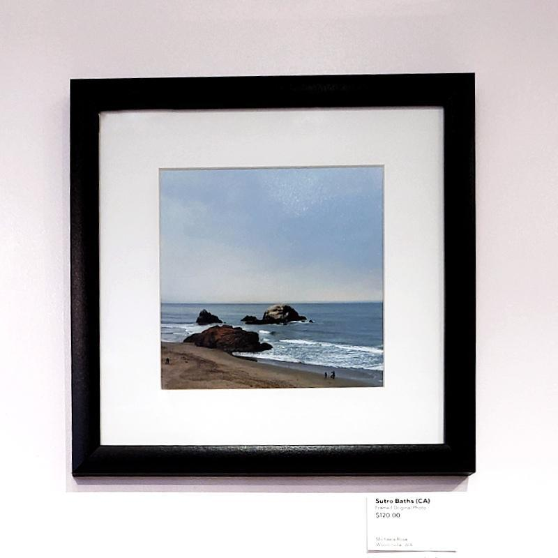Framed Photo - Sutro Baths (San Francisco, CA) - Tiny People in Big Places by Michaela Rose