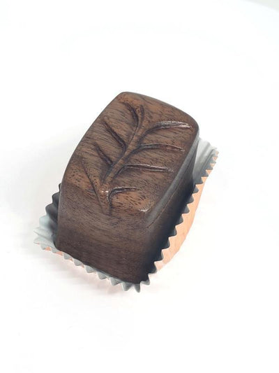 Ring Box - Magic Black Walnut OOAK by JeanineDesigns