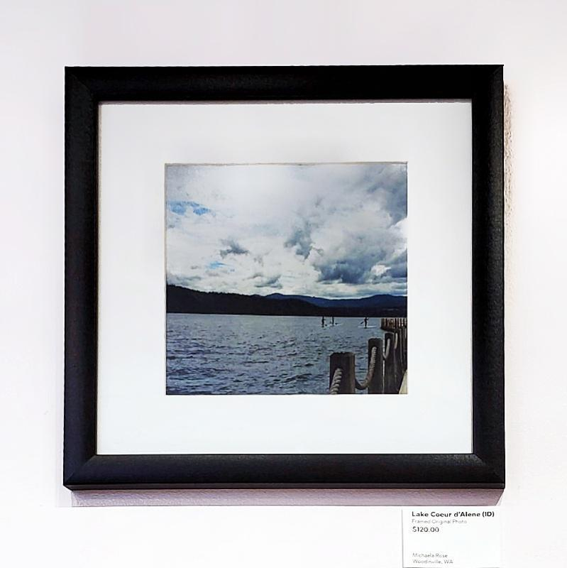 Framed Photo - Lake Coeur d'Alene (Idaho) - Tiny People in Big Places by Michaela Rose