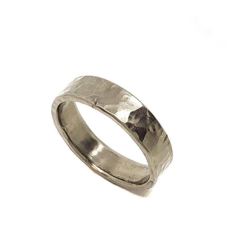 Ring - Size 12.25 - Rough and Tumble Titanium Band by Taviametal