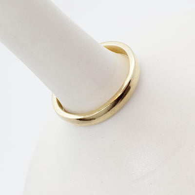 Ring - 3mm Classic Bridal in 14k Gold by Silver + Salt