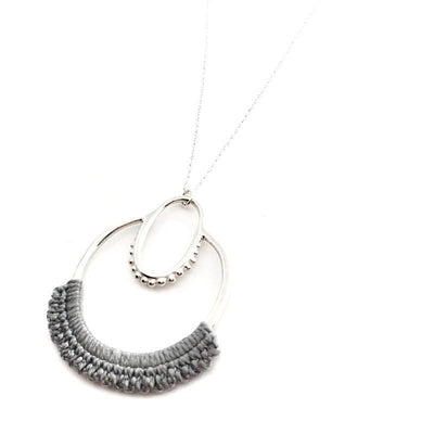 Necklaces - Slate Sterling Maha by Twyla Dill
