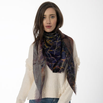 Break Free Merino Wool Scarf Lifestyle