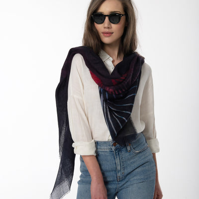 Awakening Merino Wool Scarf Lifestyle Look