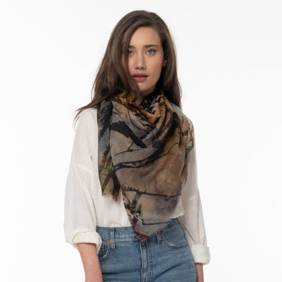 The Unseen Merino Wool Scarf Lifestyle Look
