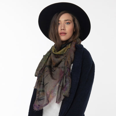 Bliss Merino Wool Scarf Lifestyle