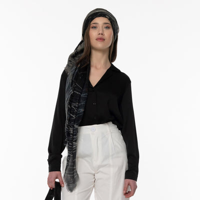 Inner Quest Merino Wool Scarf Lifestyle Look
