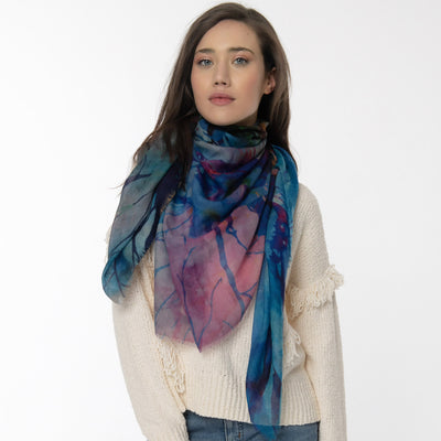 Radiance Merino Wool Scarf Lifestyle Look