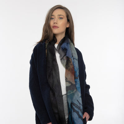 The Journey Merino Wool Scarf Lifestyle Look