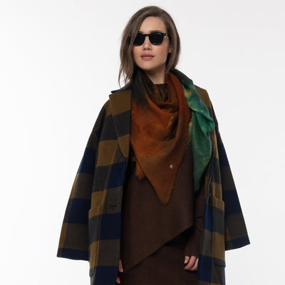 The Knowing Merino Wool Scarf Lifestyle Look