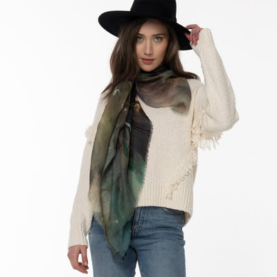 The Pursuit Merino Wool Scarf Lifestyle Look