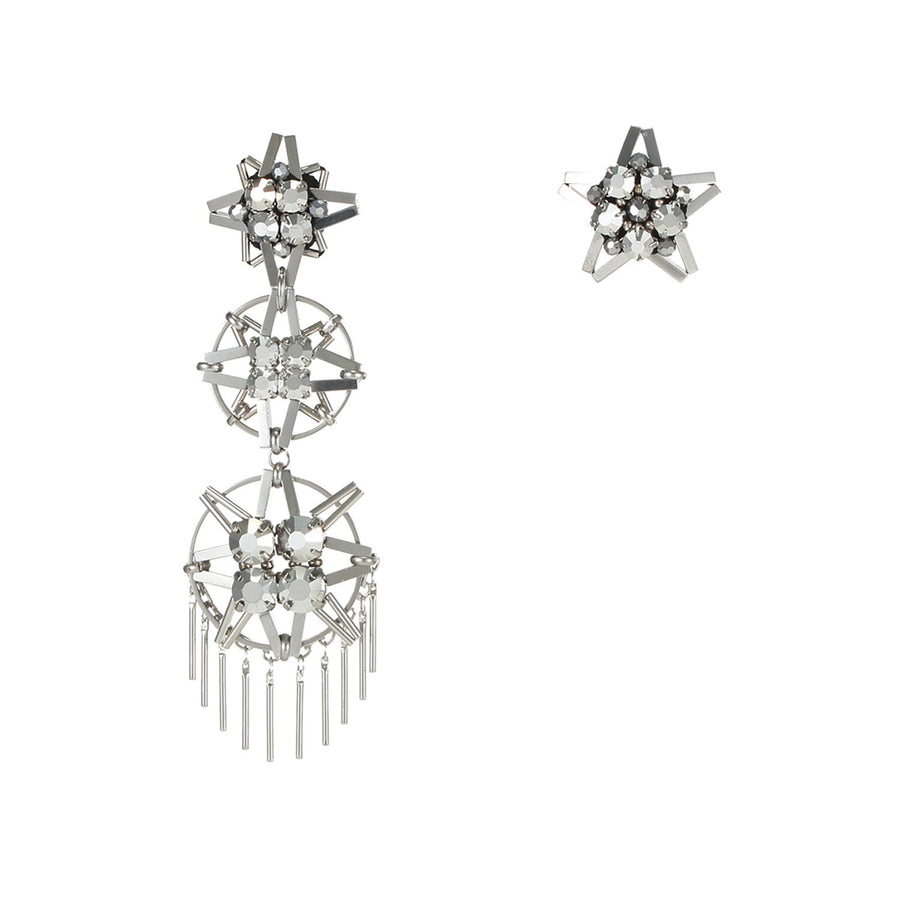 Astride Asymmetrical Earrings