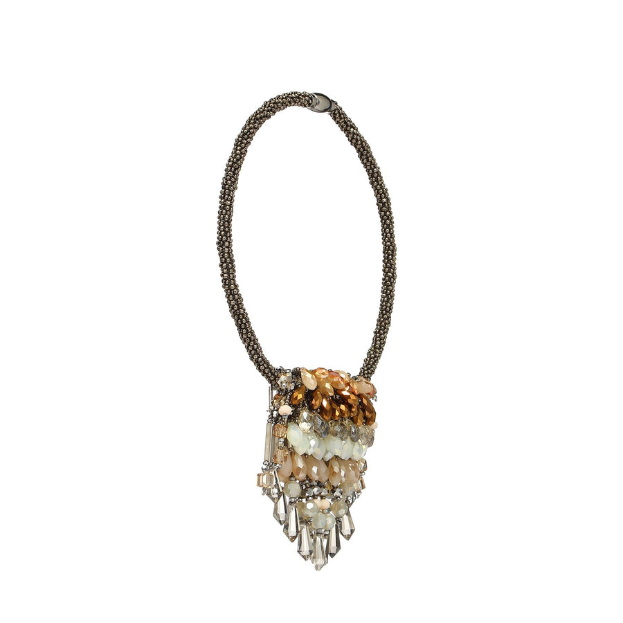 Beading Tassel Necklace