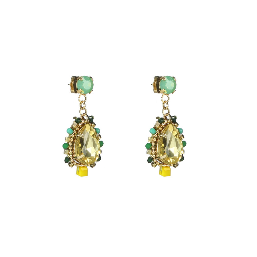 Drop Dangle Crystal Earrings