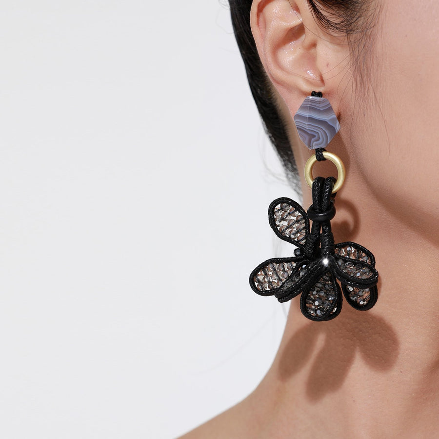 Handmade Flower Earrings