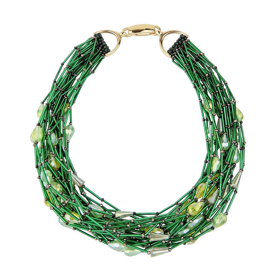 Forest Multi-Strand Necklace