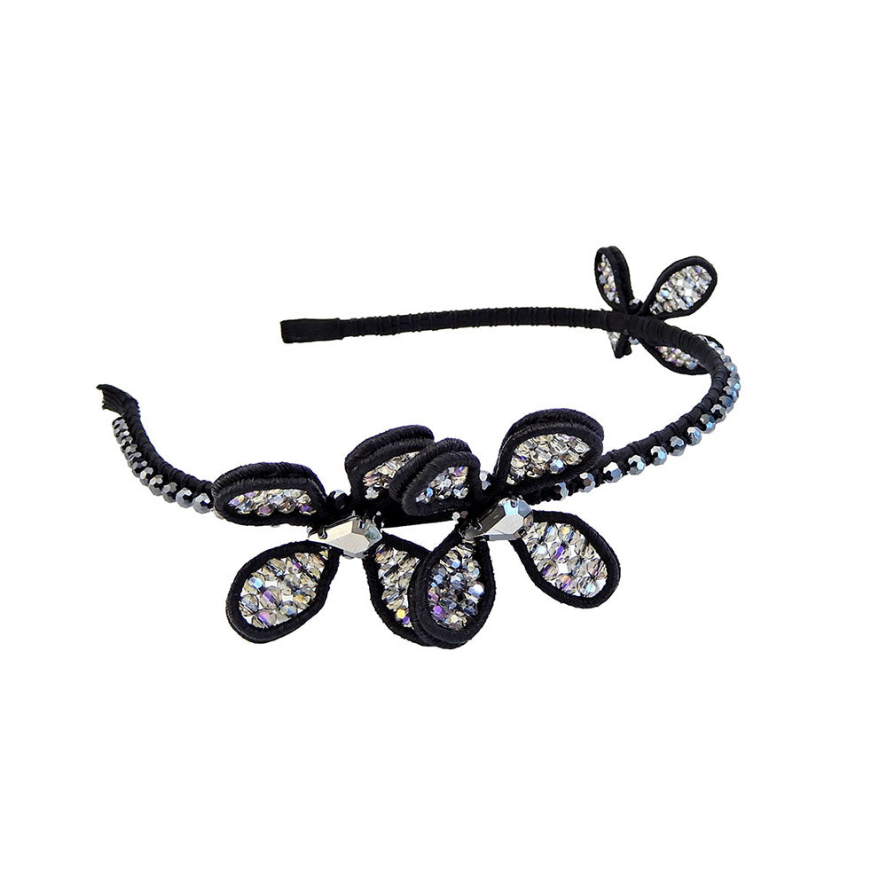 Black Headband With Diamond