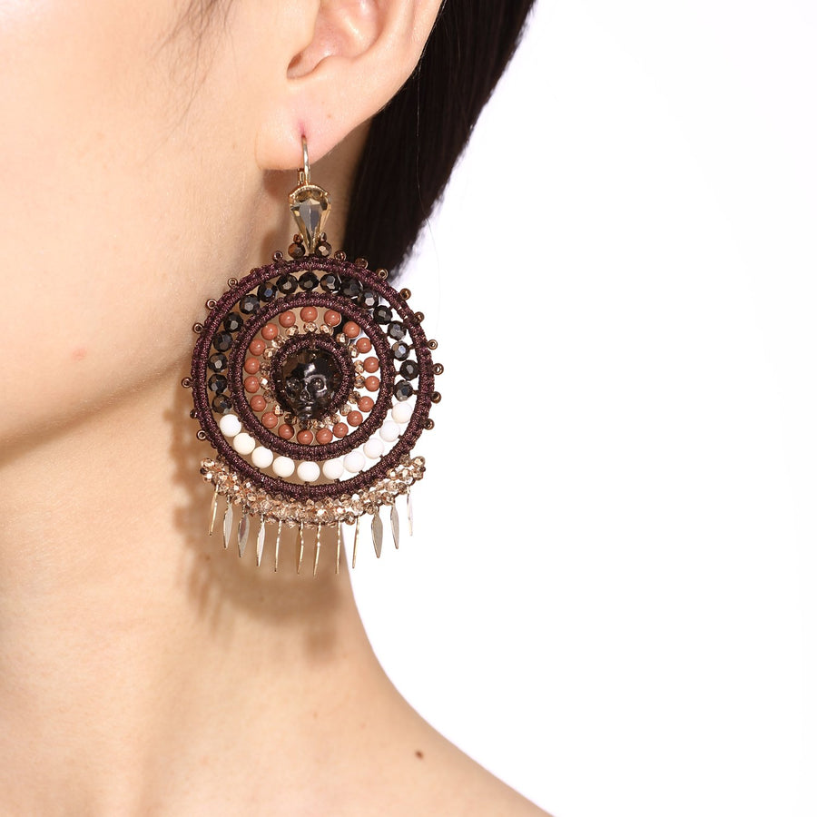Large Handmade Statement Earrings