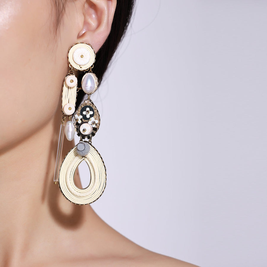 Handmade Ivory Earrings