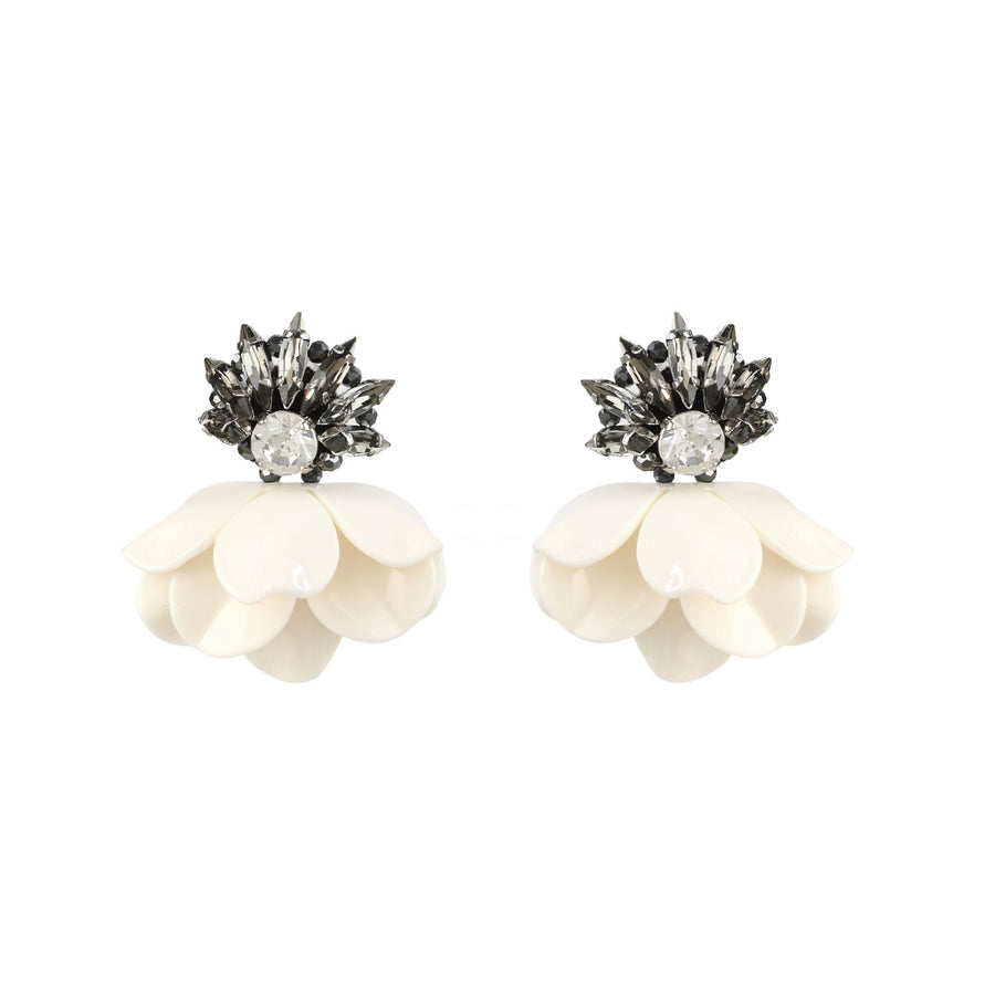 Jewelled Flower Earrings