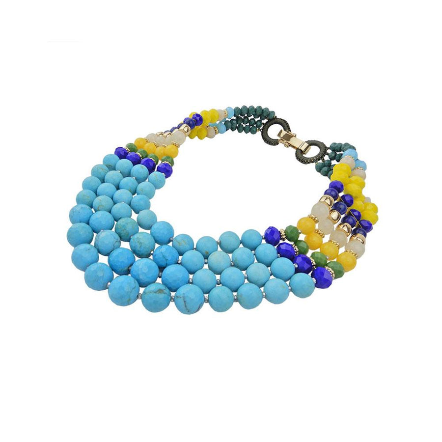 Turquoise Statement Handcrafted Necklace