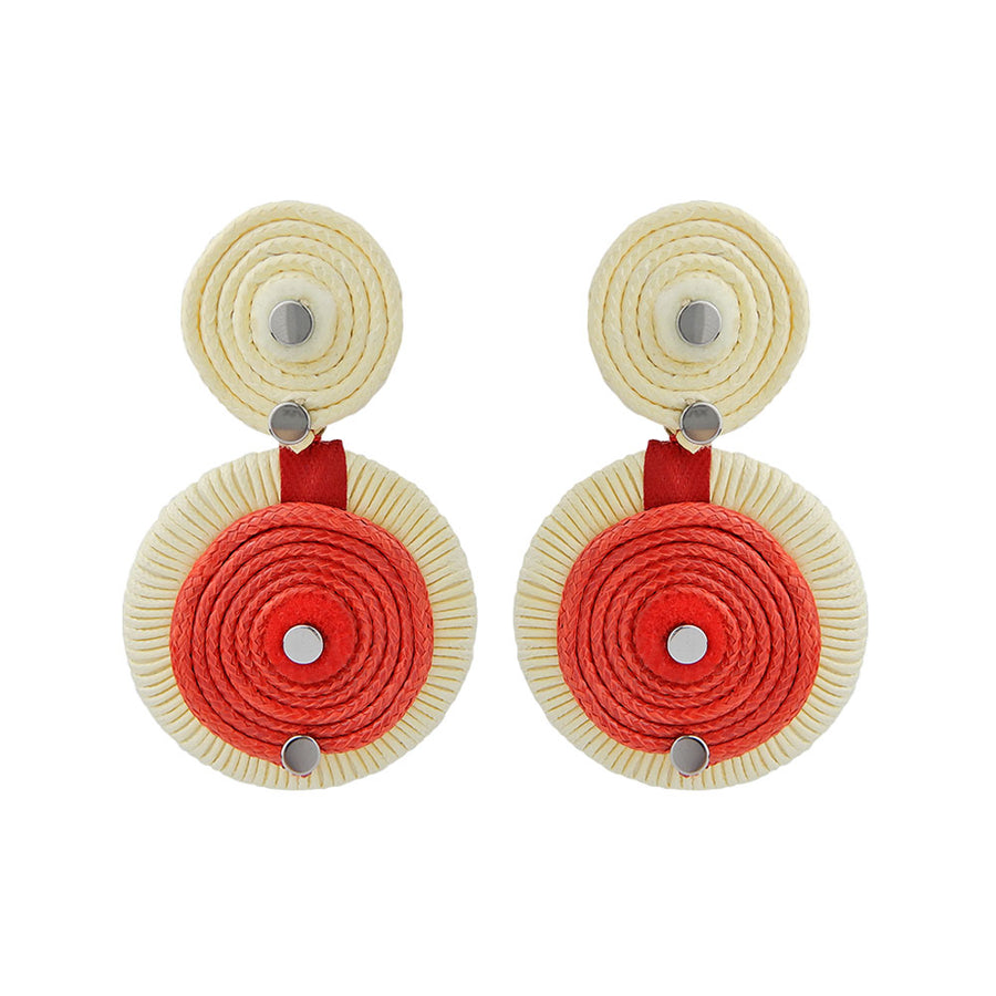 Red Statement Earring