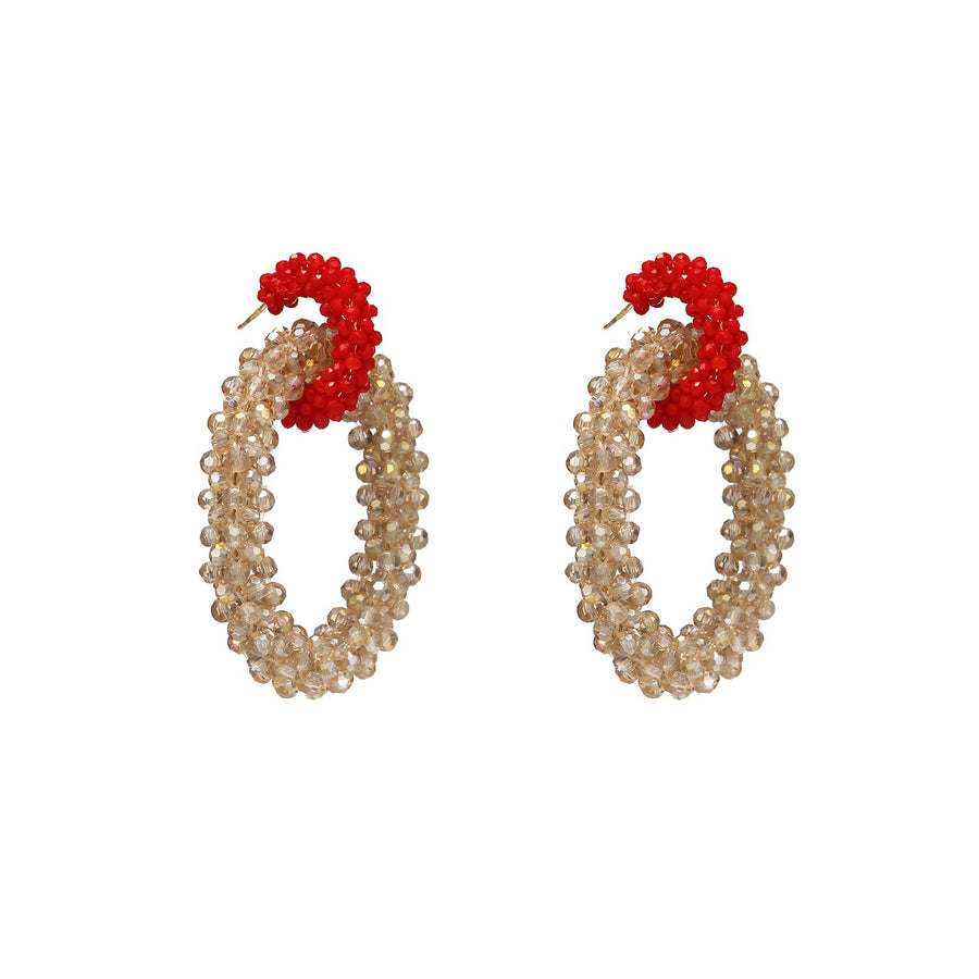Oversized Hoops Earrings
