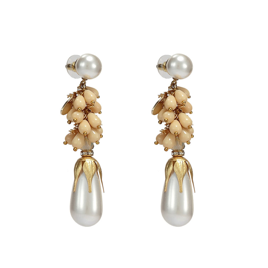 Handmade Pearl Earrings