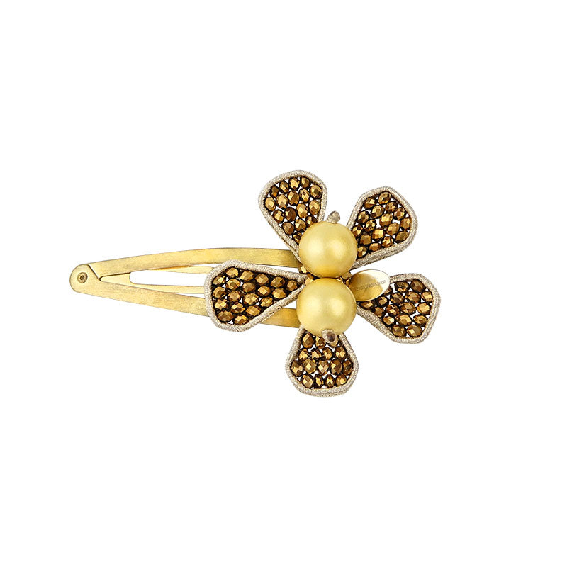 Gold Flower Hair Pin
