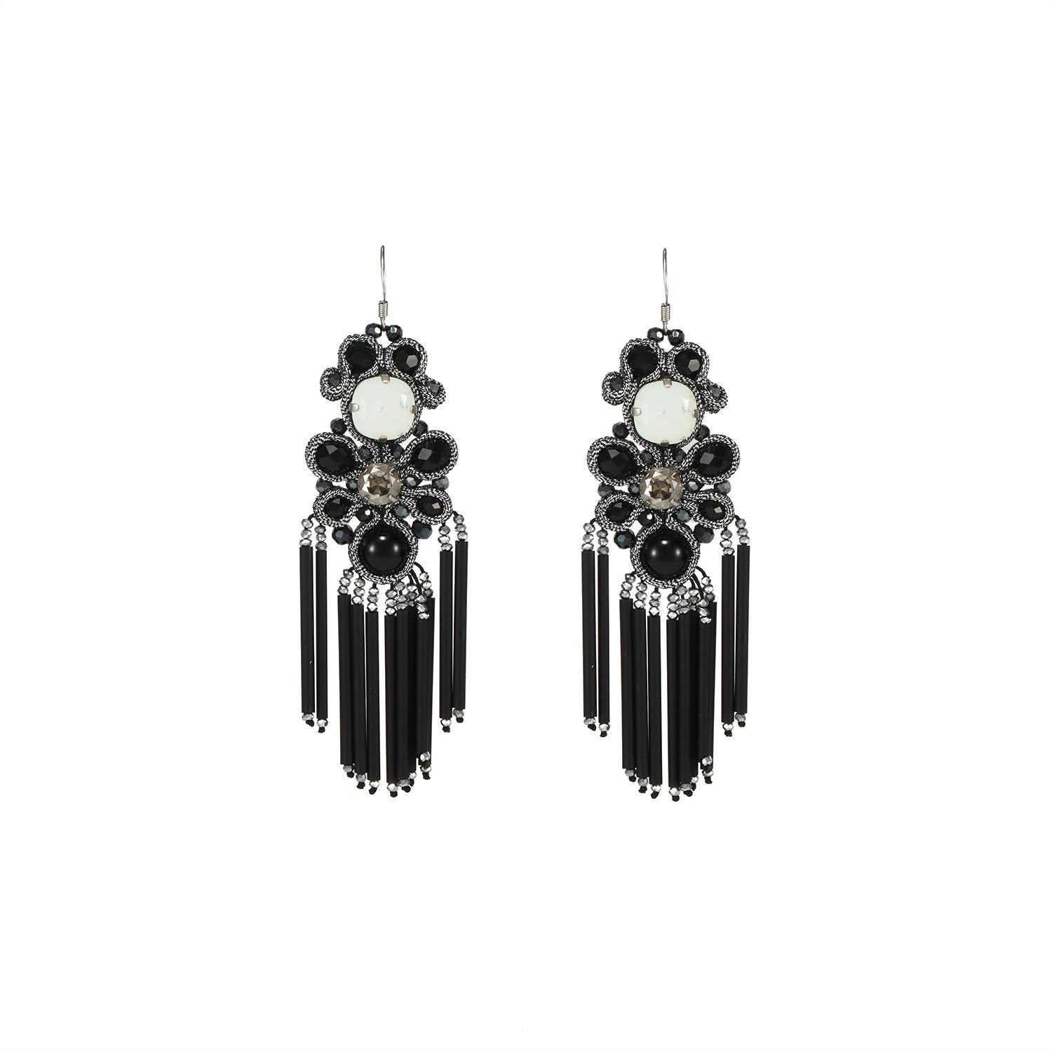 Soutache Statement Earrings