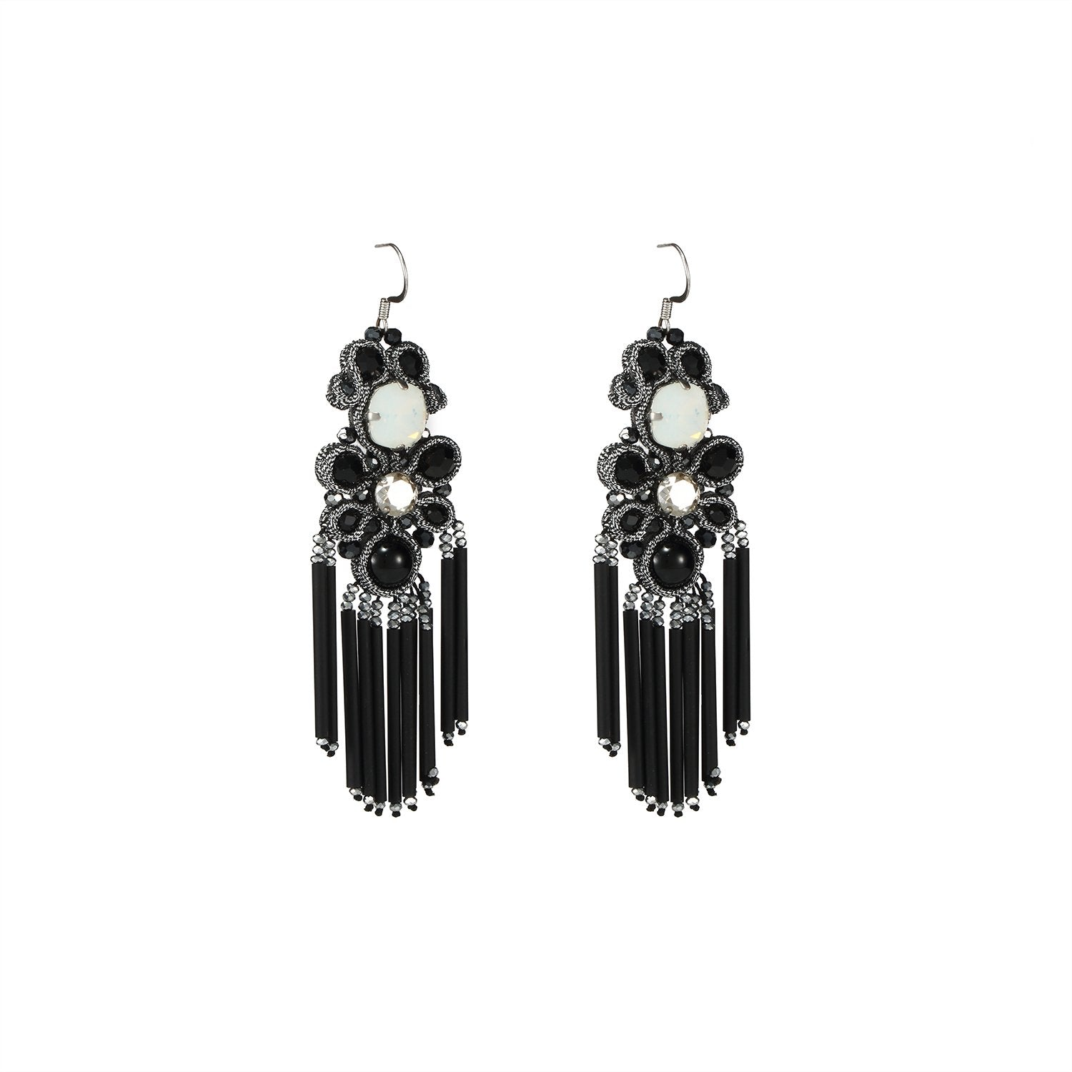Black Handmade Earrings