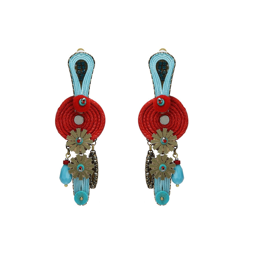 Tribal Style Statement Earrings