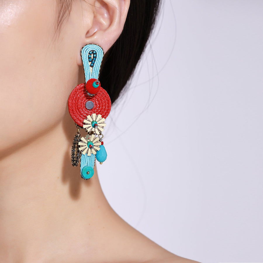 Handcrafted Tribal Earrings
