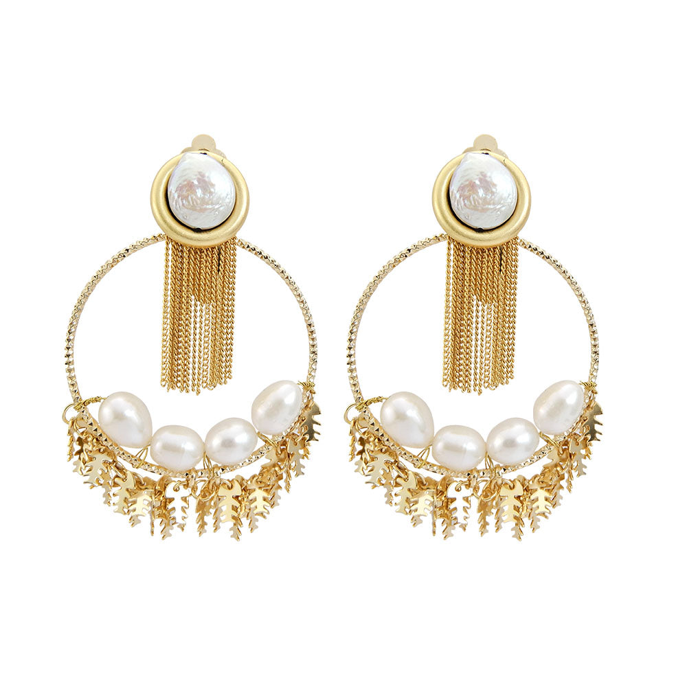 Bridal Baroque Pearl Earrings
