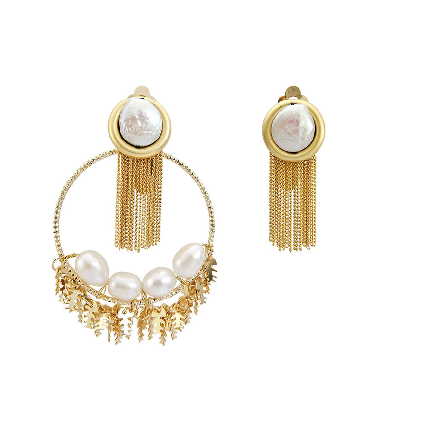 Handmade Pearl Earrings Designs