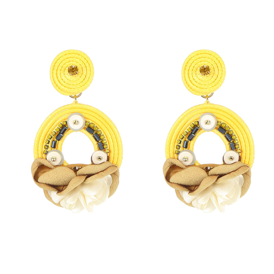 Yellow Resort Earrings