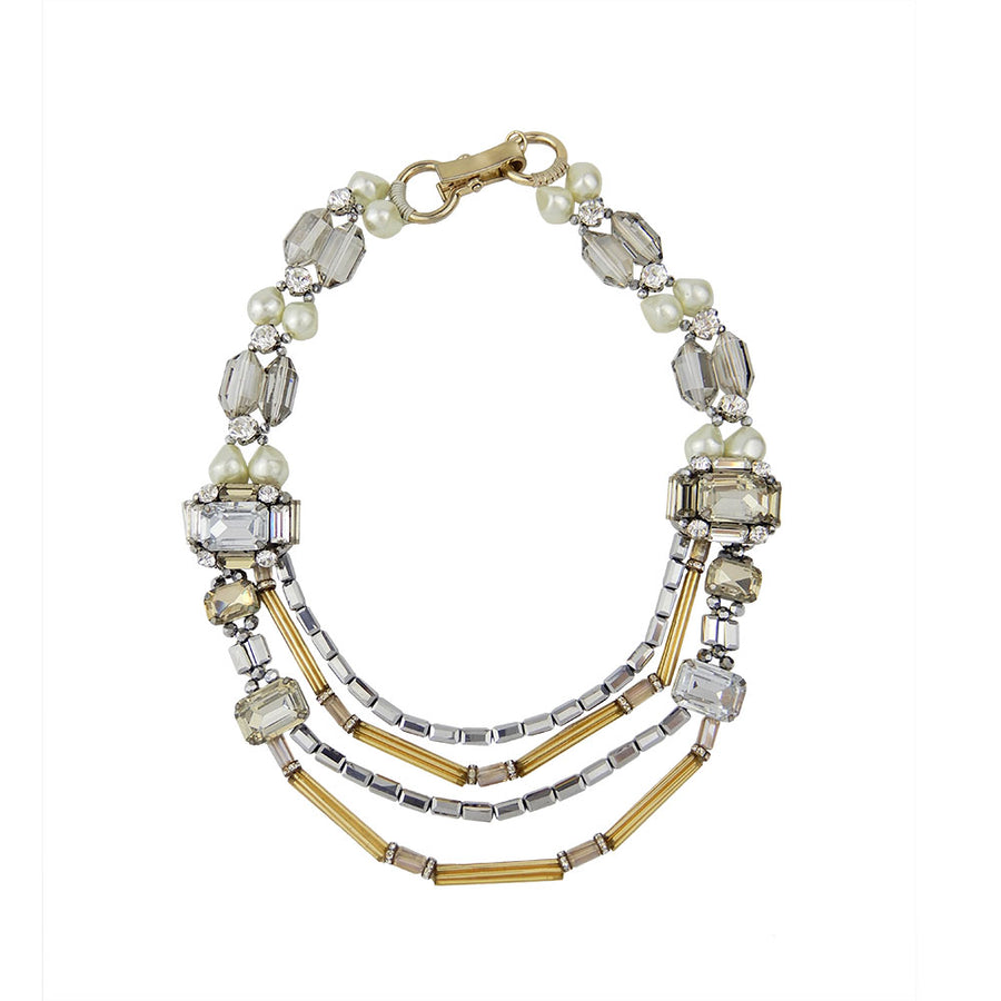 Brightly Jeweled Necklace